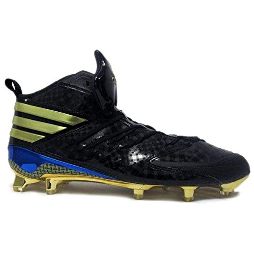 adidas Men's SM Freak X Kelvar Football Cleats (12, Core Black/Gold Metallic/Bright Royal)