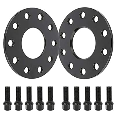 ECCPP 5 lug Wheel Spacers 5x130 7mm 5x130mm to 5x130mm fit for Porsche 911 Boxster Cayenne Panamera Cayman(14x1.5 studs 2X): Automotive
