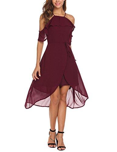 high low chiffon dress - 2