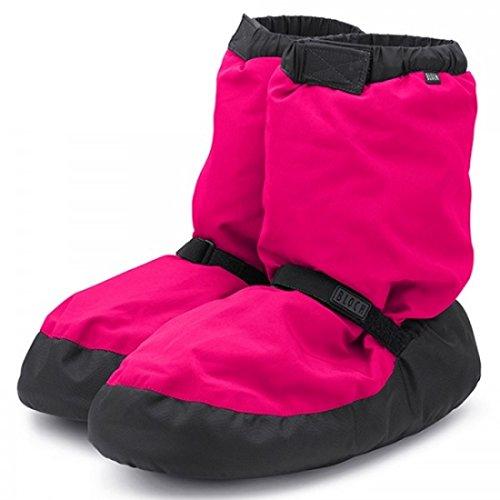 Bloch danza Warm Up Boots Rosa Fluorescente