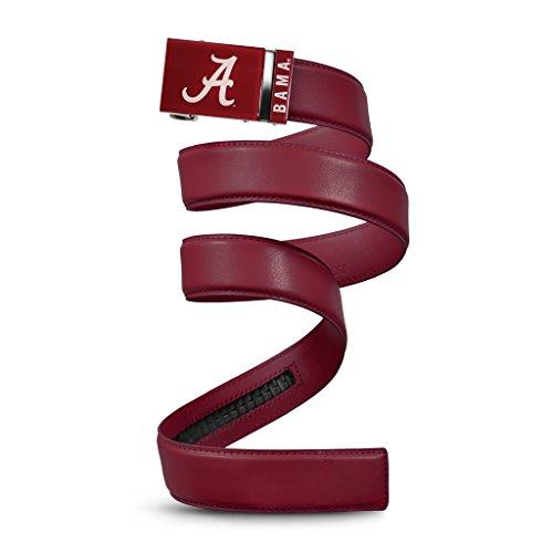 NCAA Alabama Crimson Tide Mission Belt, Crimson Leather, Small (up to 32) ()