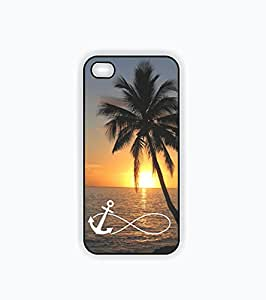 iPhone 5 Case, iPhone 5s Case - Infinity Anchor on Beautiful Sunset Beach