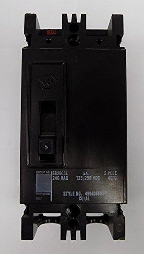 EB2100N - Molded Case Switch - Type EB - 2 Pole 240V 100 Amp