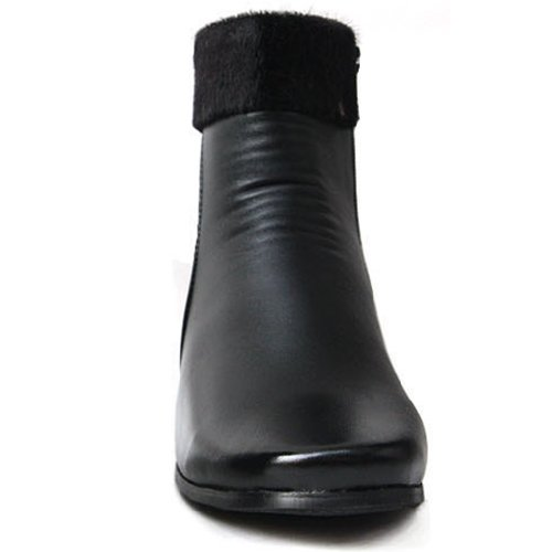 Snow Classic Comfort Warm Ankle Womens Boots Winter New Black Heels 7qXwOO