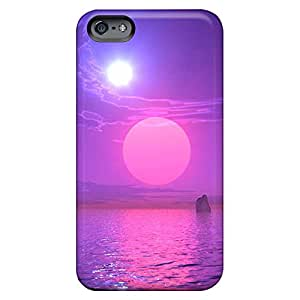 iphone 4 /4s Personal phone cover skin Pretty phone Cases Covers Shock Absorbing natural scene