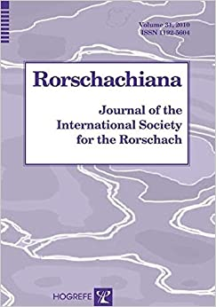 Rorschachiana: v. 31: Journal of the International Society for the Rorschach