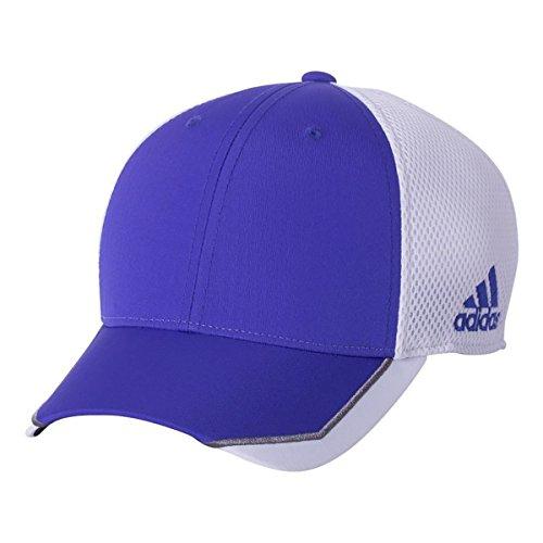 Adidas Tour Hat (adidas Golf Tour Mesh Front Hit Cap, Night Flash/White, Small/Medium)