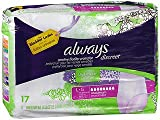 Always Discreet Underwear Maximum Absorbency Size Large - 3pks of 17, Pack of 4