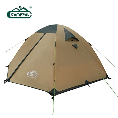 camppal Professional Four Seasons Mountaineering Tent for Three Persons Dome