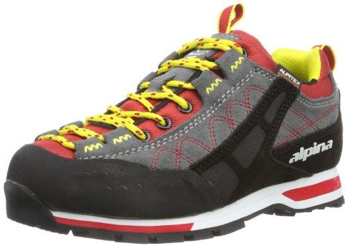 Alpina 680,273 Trekking Unisexe Adulte Et Chaussures De Randonnée Rouge (rouge / Noir)