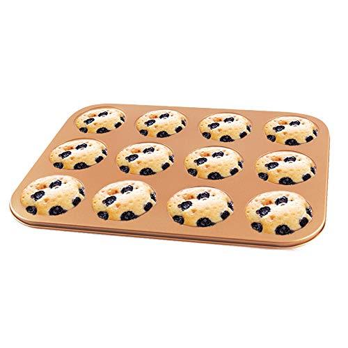Compare Price Jumbo Cast Iron Muffin Pan On