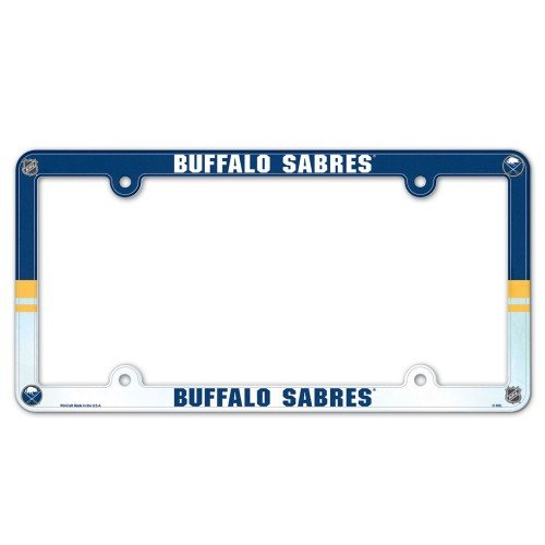 WinCraft NHL Buffalo Sabres License Plate with Full Color Frame