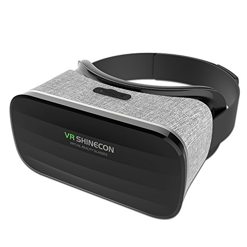 New SHINECON Headset Panorama 3D VR Headset Virtual Reality Glasses Android 5.1 Immersive Cloth-art