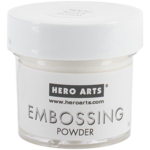 Hero Arts White Satin Pearl Embossing Powder by Hero Arts