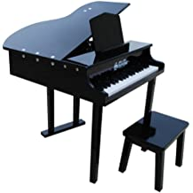 Concert Grand Piano with Matching Bench - Color Black