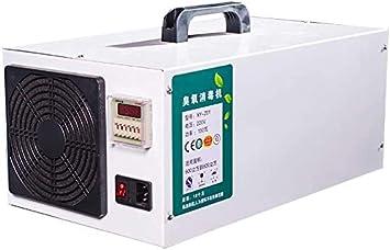 SOAR Generador de Ozono El ozono de acero inoxidable industrial Generador purificador de aire UV witn de Inicio Alquiler Comercial: Amazon.es: Bricolaje y herramientas