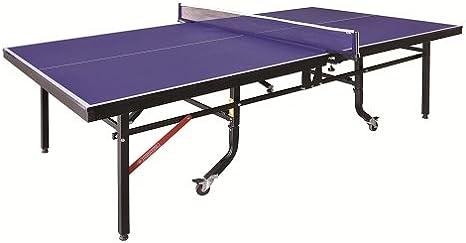 Mesa profesional de ping pong de interior 18mm doble plegado ...