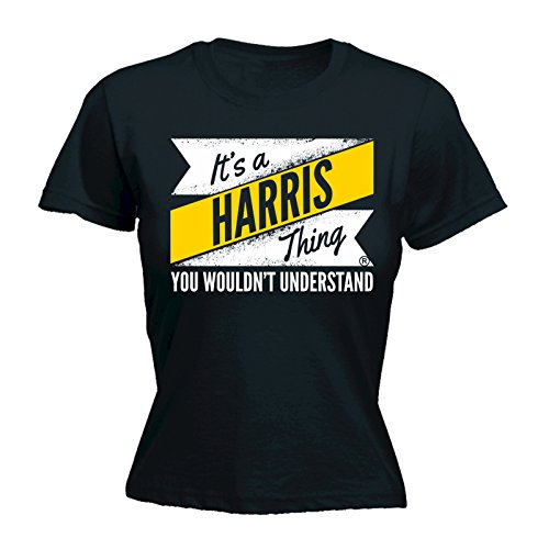 Its A Surname Thing Damen T-Shirt, Slogan Schwarz