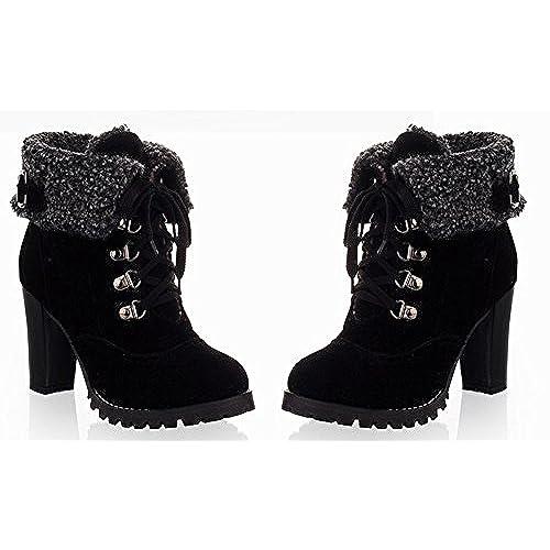 LUOYIDIYA Womens Wedding Shoes Heels//Platform//Closed Toe Heels Wedding//Party /& Evening//Shoes