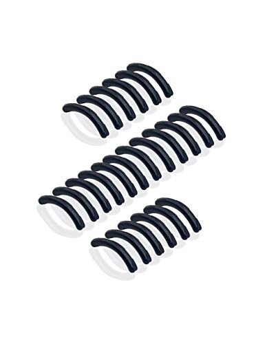 (Eyelash Curler Sort Rubbers - 24 Silicone Replacements Alpiriral Rubber Pads in)