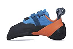 Evolv Shaman Climbing Shoe - Blue/Orange 7