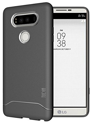 LG V20 Case, TUDIA Full-Matte Lightweight [ARCH] TPU Bumper Shock Absorption Case for LG V20 (Tpu Skin)