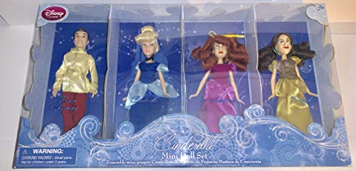 Disney Princess Exclusive Cinderella Mini Doll Set