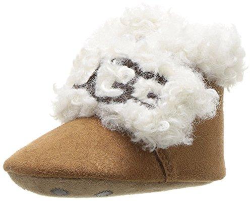 UGG Baby I Mini Bootie Crib Shoe, Chestnut,