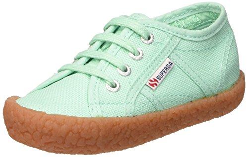 Superga 2750-Naked Cotj, Zapatos Bebé-Niñas^Bebé-Niños Verde (Pastel Green)