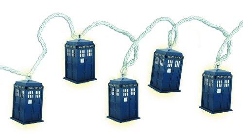 Doctor Who Tardis String Lights