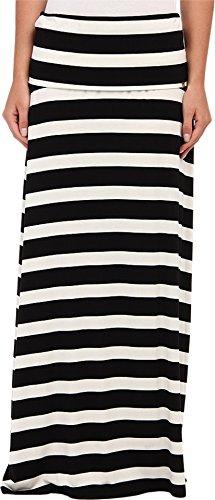 Calvin Klein Women's Thick Stripe Maxi Skirt