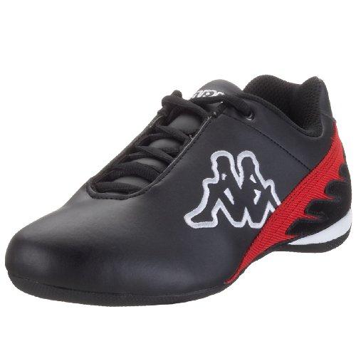 Kappa Racer 241110 - Zapatillas unisex Negro (Schwarz (Blk/Red))