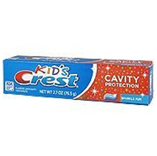 (Kids Crest Toothpaste - Cavity Protection, 2.7 Oz,(pack of 6))