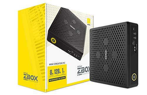 ZOTAC Magnus EN72070V Mini Creator PC GeForce RTX 2070, Intel Core i7-9750H, 8GB Memory/128GB SSD/1TB HDD/Windows 10 Home 64-bit System, ZBOX-EN72070V-U-W2B