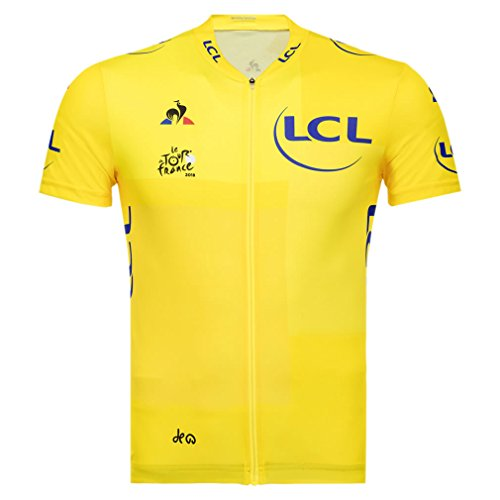 Official Tour de France Coq Sportif Yellow Jersey - Yellow (S)