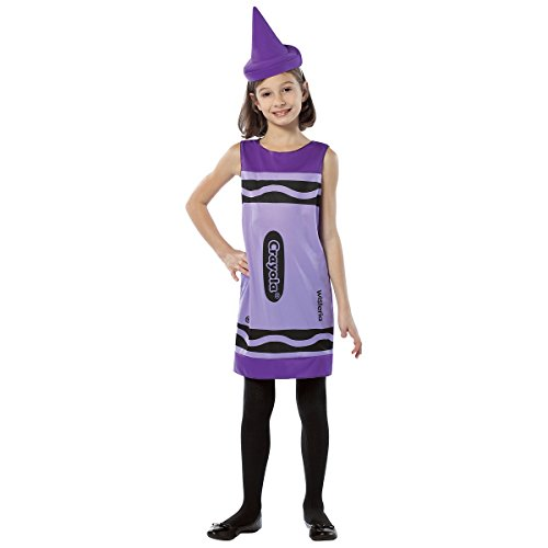 Blue Crayola Tank Costumes Child Dress Sky (Crayola Crayon Tank Dress Child Costume Purple -)