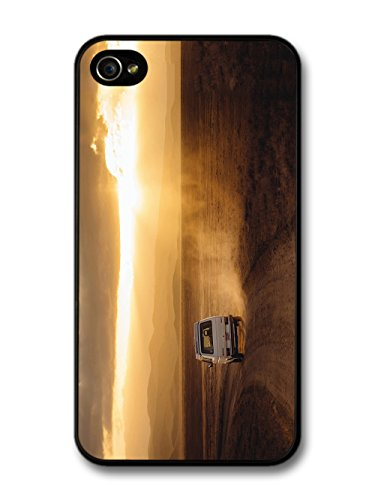 Cool Travelling Driving Car Through Desert Wanderlust Photography case for iPhone 4 4S
