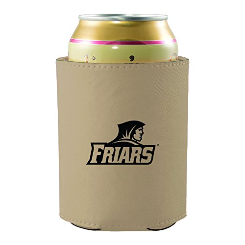providence-college-leatherette-beverage-can-cooler-tan