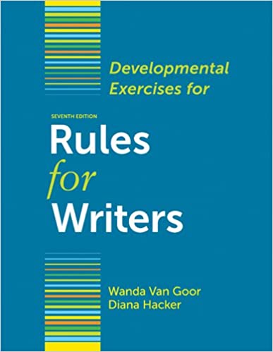 Rules for writers, 7th edition [paperback] dh, ns | ebay.