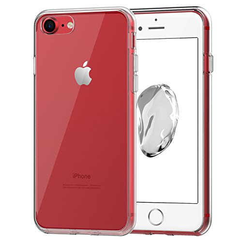 Price comparison product image iPhone 7 Case, JETech Apple iPhone 7 Case Cover Shock-Absorption Bumper and Anti-Scratch Clear Back for iPhone 7 4.7 Inch (HD Clear) - 3421A