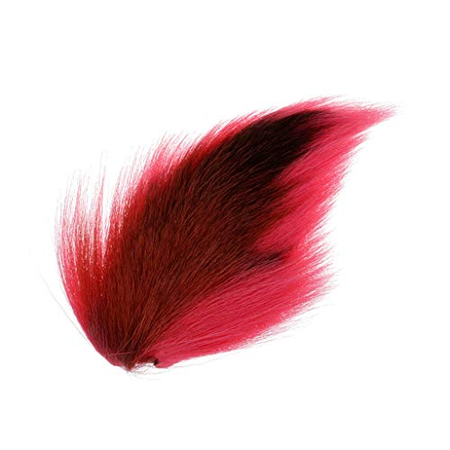 (Ameglia Simulation Bucktail Deer Tail Hair for Fly Tying or Tying Flies (Color - Pink))