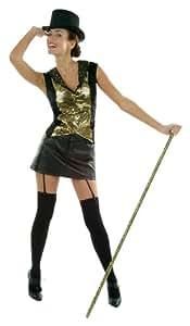Cesar - Disfraz de bailarina de cabaret para mujer (adulto), talla 40 cm