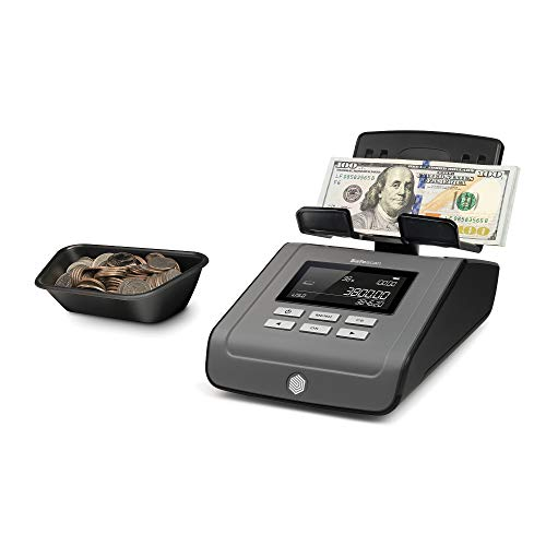 Safescan 6165 - Money Counting Scale for Counting Bills and Coins