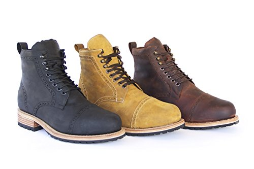 WILCOX Mens Boots FAIRFAX - Handmade Leather Boots for Men with Premium Comfort and Durability - Hiking Boots with Resoleable Design - Ready for any Adventure