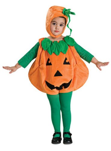 Rubie's Costume Baby Pumpkin Romper Costume, Orange, 6-12 Mo