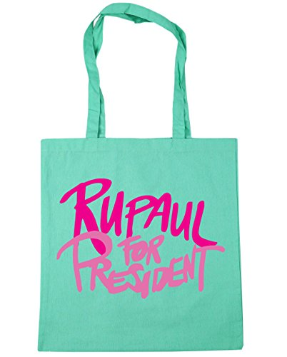 president x38cm 42cm litres Tote Rupaul for 10 Gym Mint Shopping HippoWarehouse Beach Bag Eqf6xw8
