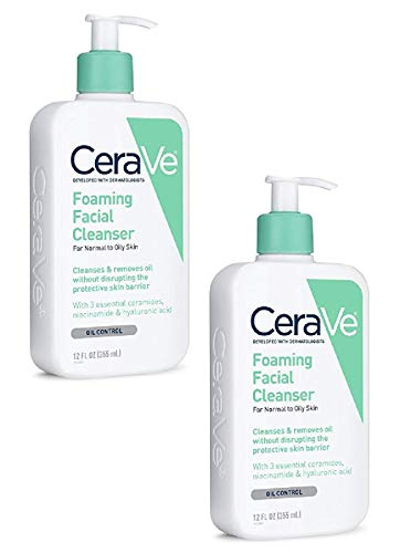 Cerave Foaming Facial Cleanser 12 Oz