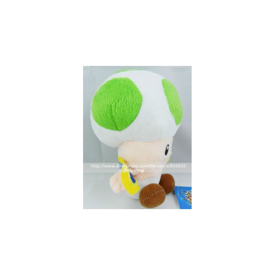 whole super mario bros 10 toad soft stuffed plush by super mario brothers 20pcs/lot 20110907 1