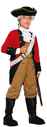 Forum Novelties Child's British Red Coat Costume, Medium
