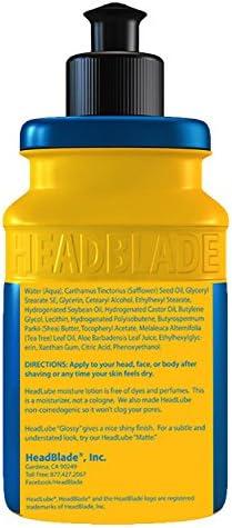 Nueva HeadBlade headlube mate de loción post afeitado crema ...